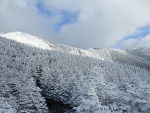 Franconia Ridge from AMC Hut