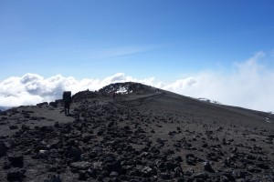 Final push to Uhuru peak from Stella Point