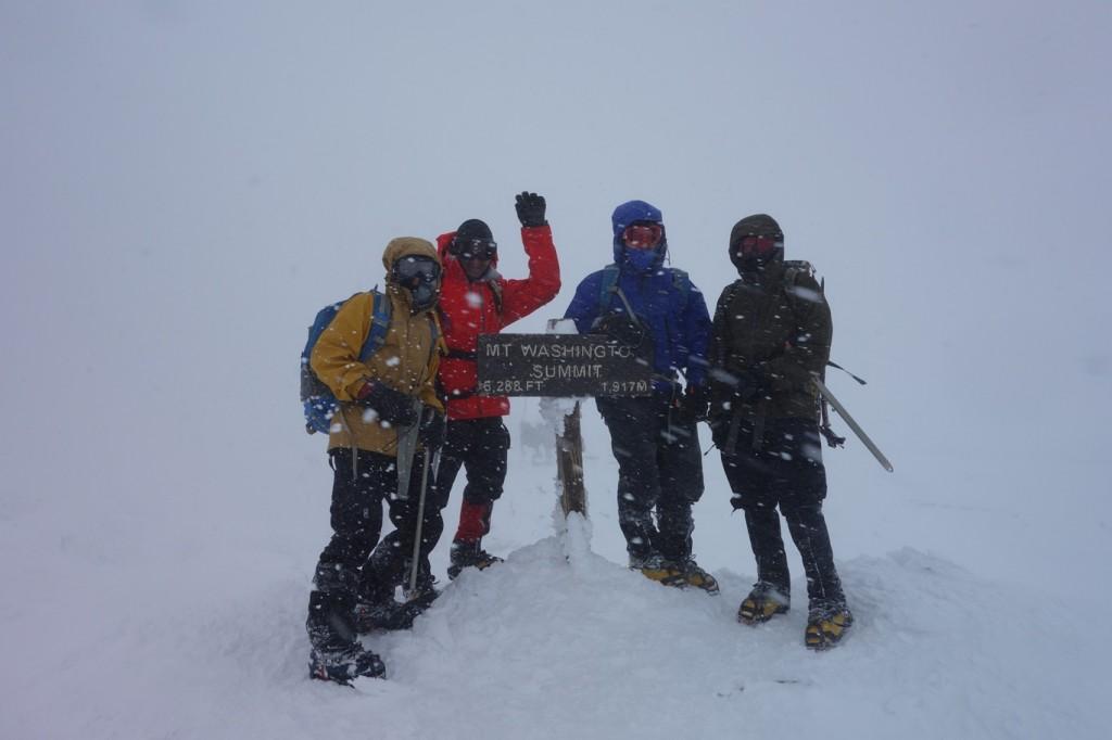 Mt. Washington Summit at last