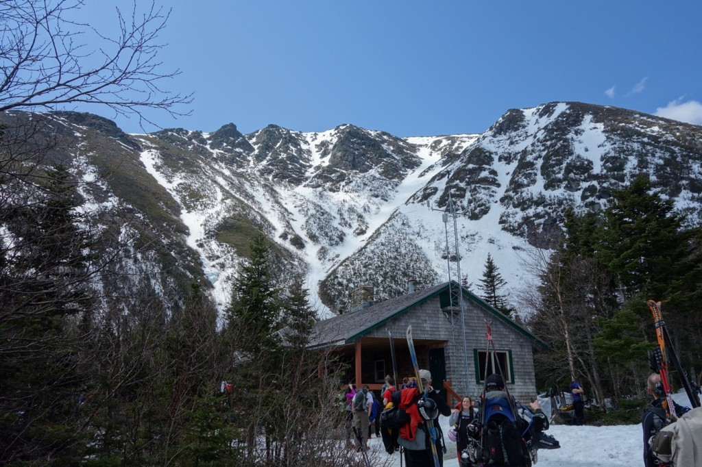 Hermit hut at Tuckerman's ravine