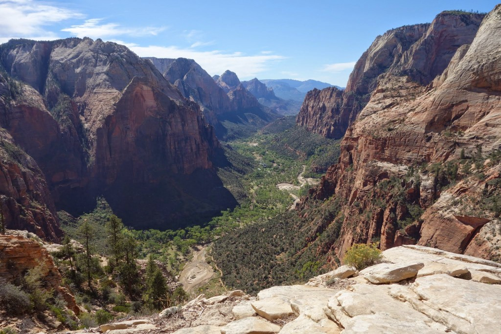 View from top of Angel's Landing