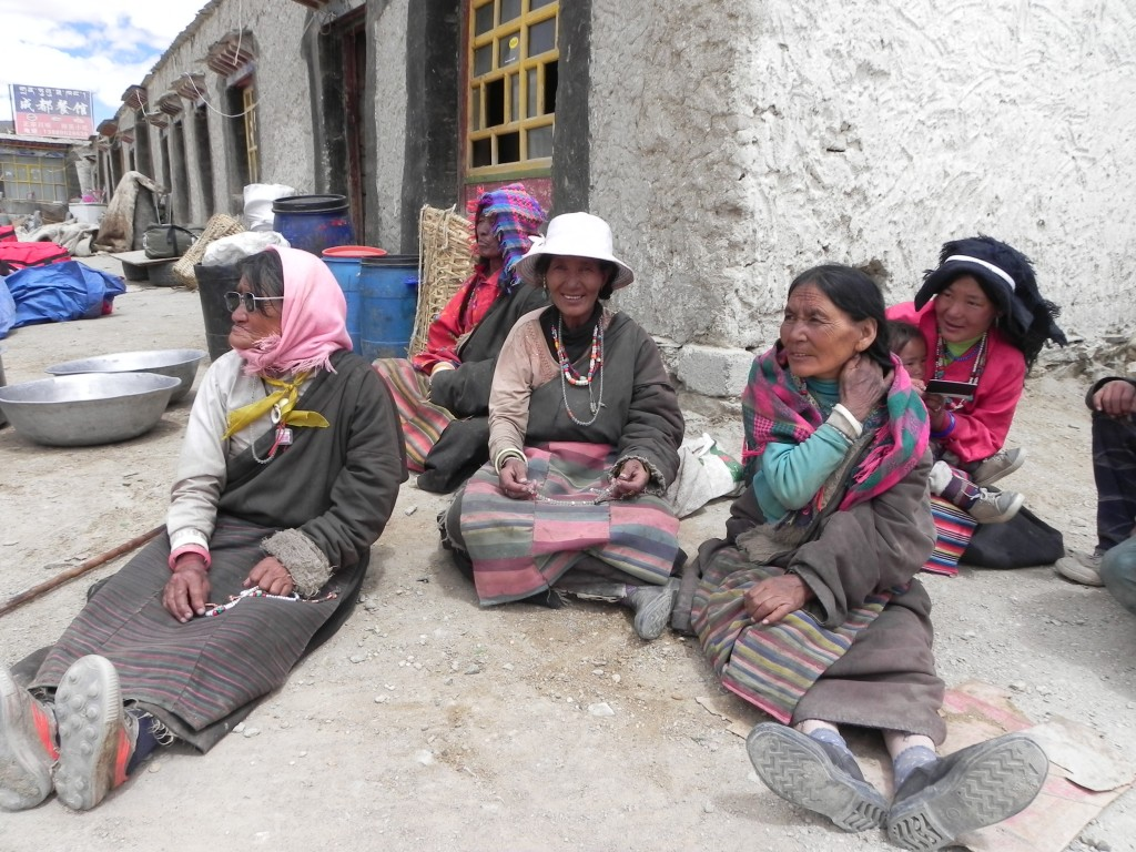 The locals in Paryang