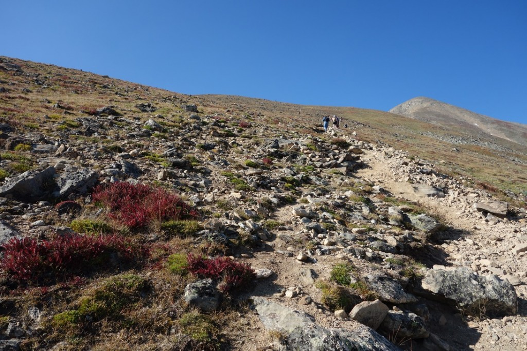 Towards the first false peak