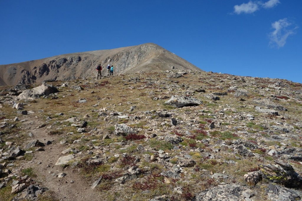 Getting steeper and higher