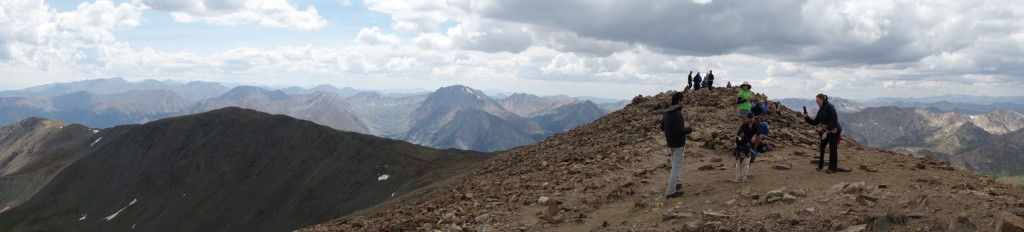 Mt Elbert - A view to die for!