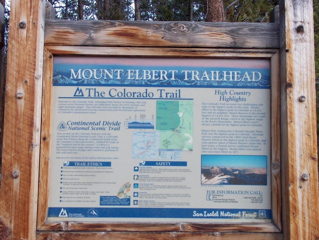 North East Ridge Trailhead