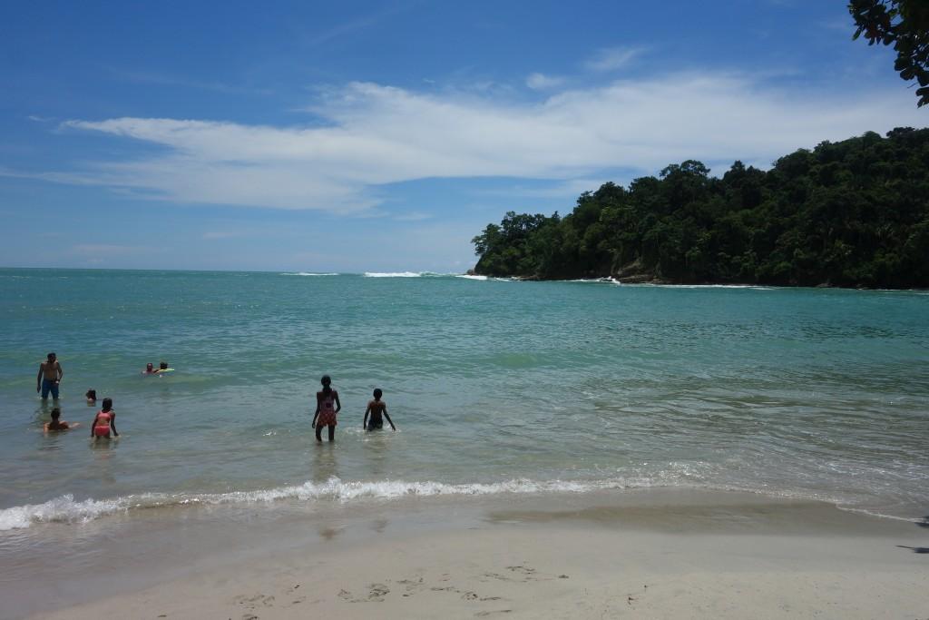 Espadilla Sur - A pristine white sand beach at Manuel Antonio