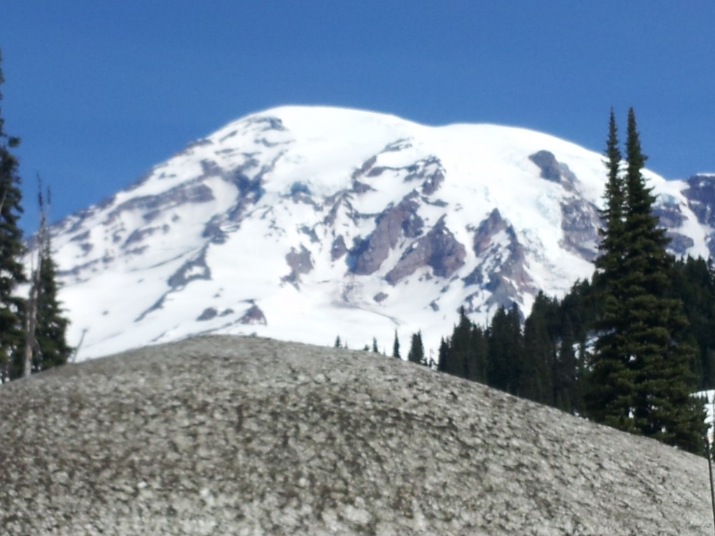 Mount Rainier as seen from Paradise Point