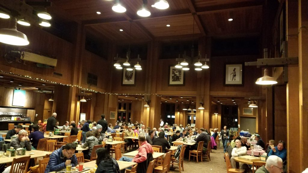 Dining Hall at Half Dome Village