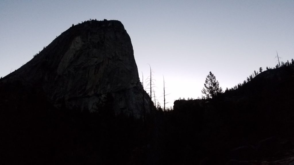 Early morning view of liberty cap