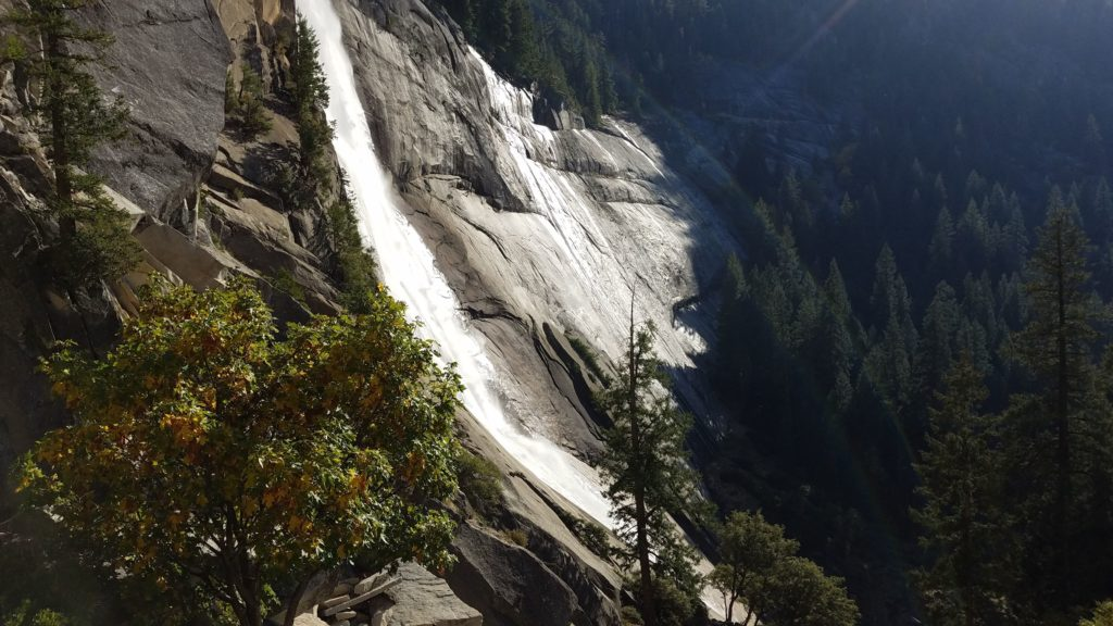 Silky smooth Nevada Falls