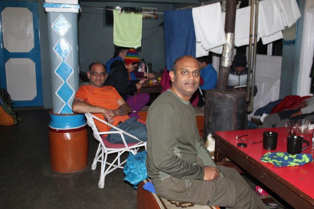 Teahouse near tadapani